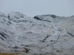 Primera nevada en Formigal