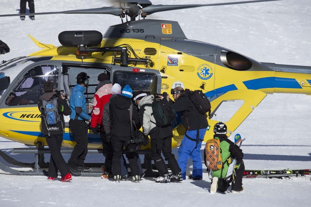 Helicóptero en Vallnord