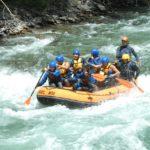 Noguera Pallaresa barca de rafting