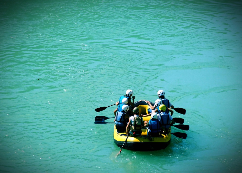 Rafting en Carcavilla