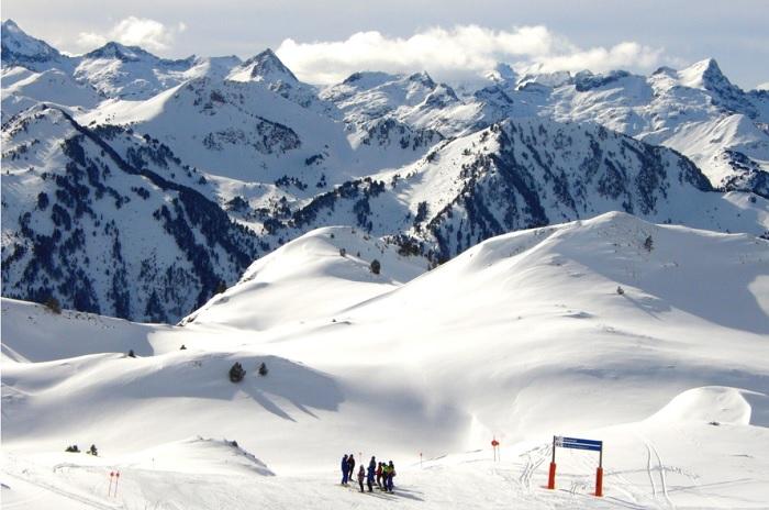 Nieve en Baqueira Beret
