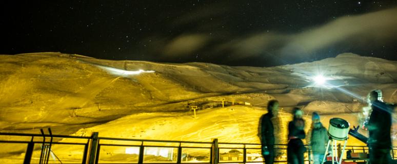 Sierra Nevada por la noche