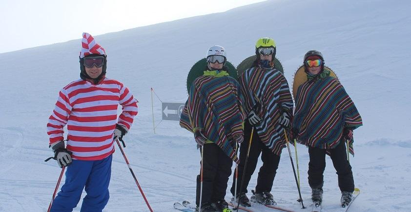 Carnaval en las estaciones de esquí del Pirineo Catalán