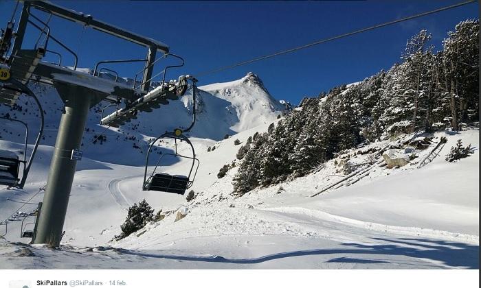 Nieve en Espot Esquí