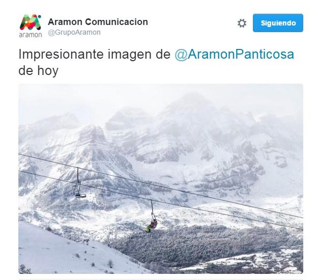 Cae nieve en Panticosa.