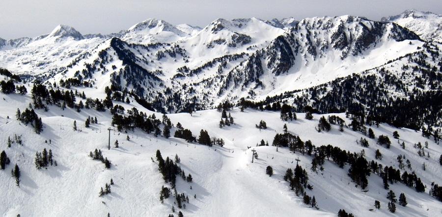 Baqueira Beret nevada