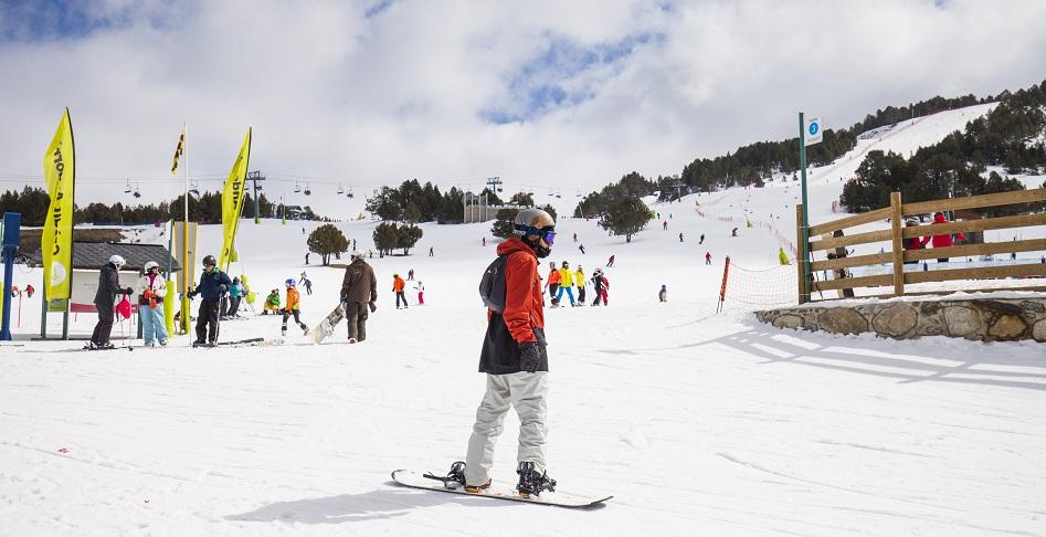 Grandvalira snowboard