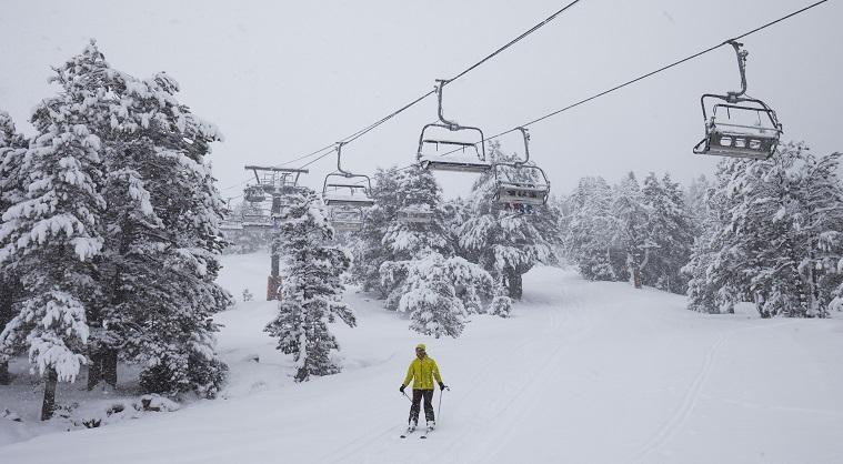 esquí en GV