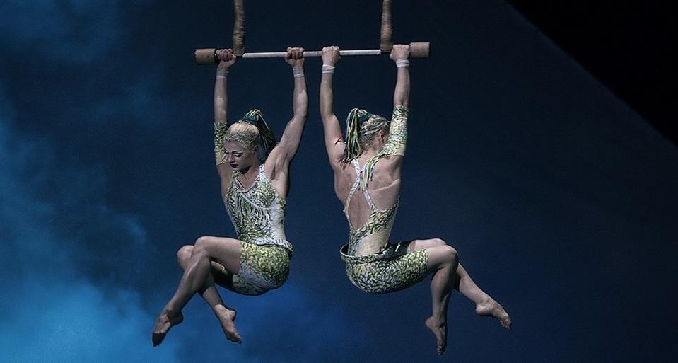 Acrobacias en Cirque du Soleil