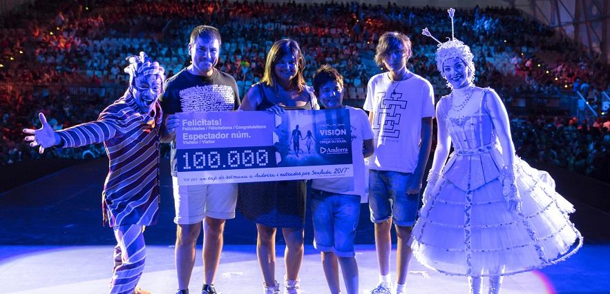 100000 visitantes en Andorra