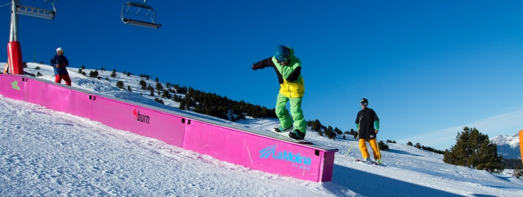 Snowpark La Molina
