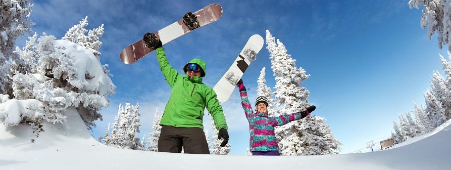 Snow esquiades