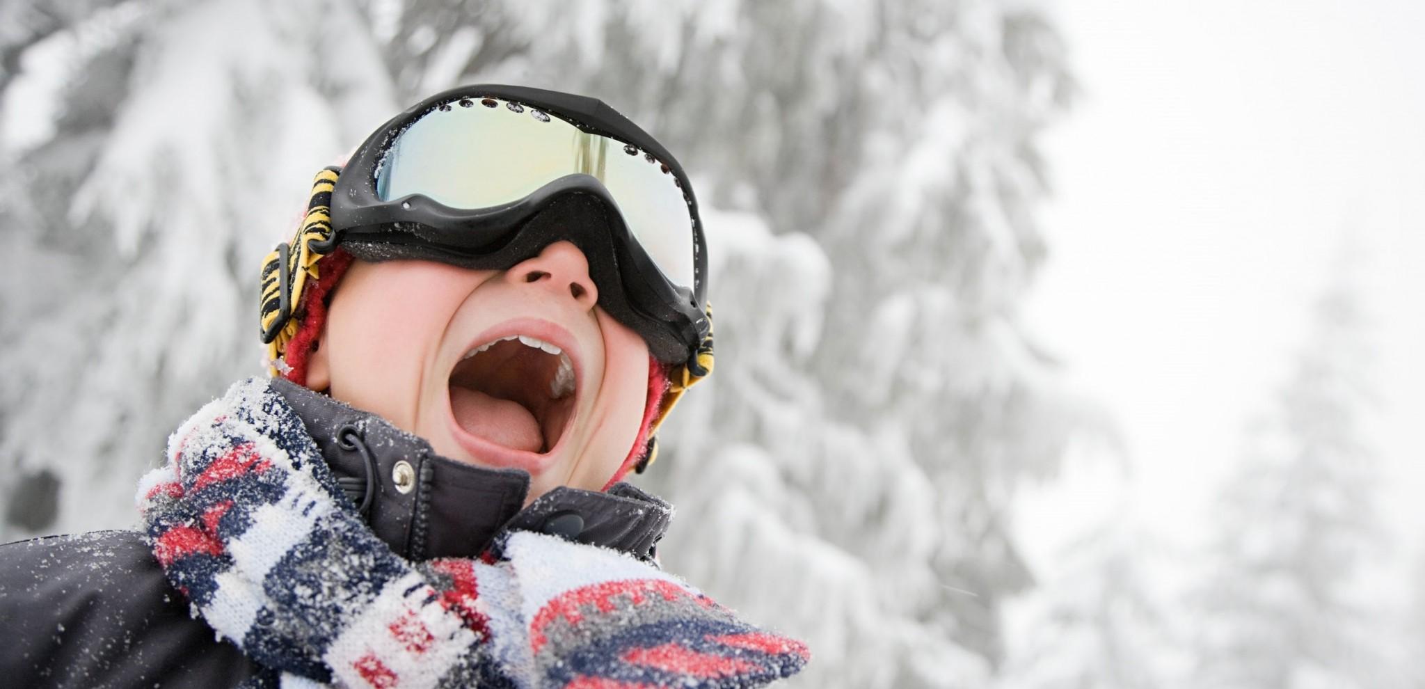 gafas de esquí para niños