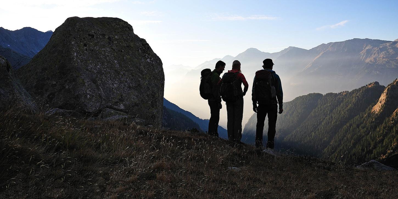 Bondasca, Sciora Gebiet, Bergell, Graubünden, Schweiz