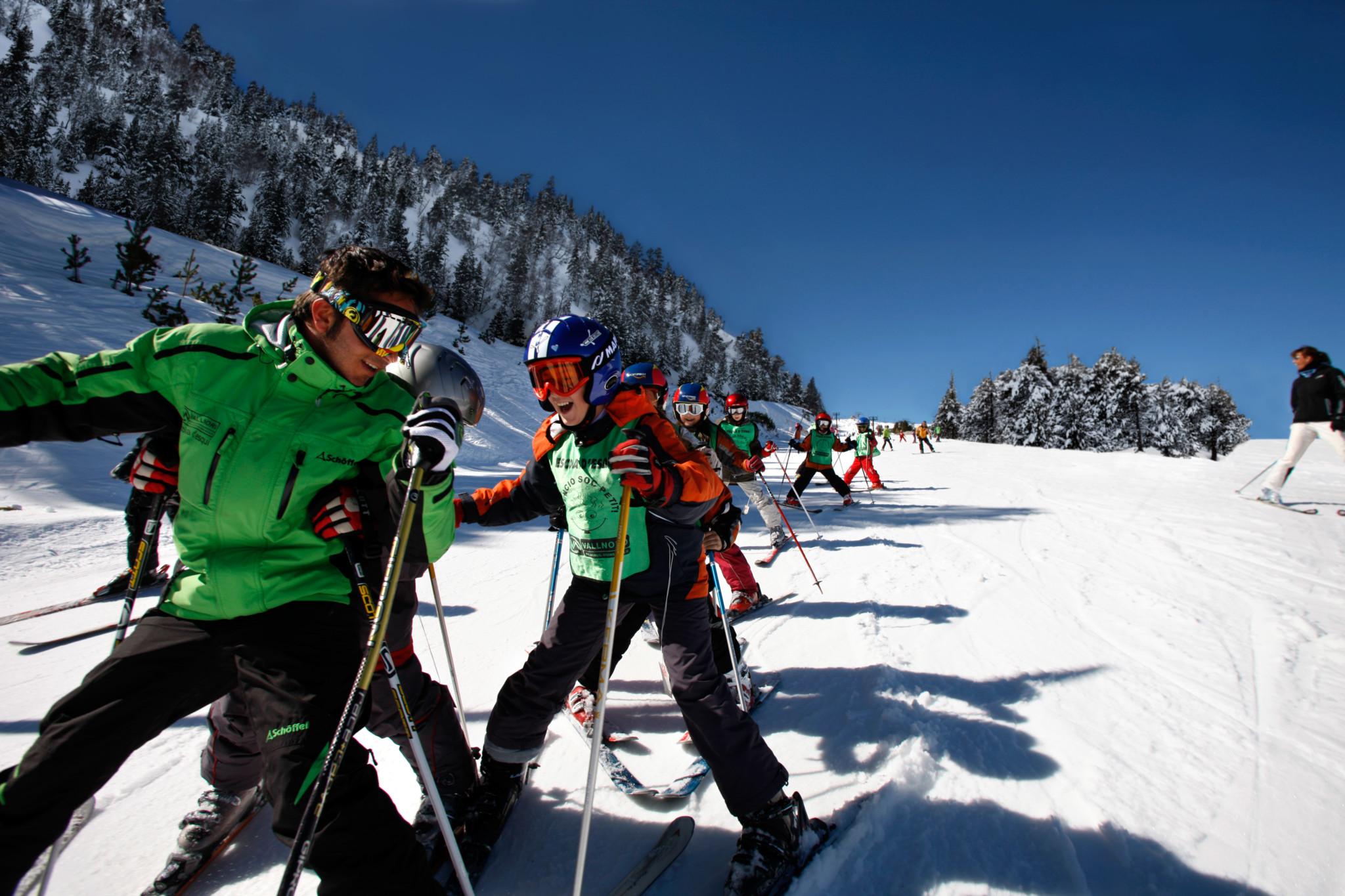 Clases de esquí en Vallnord