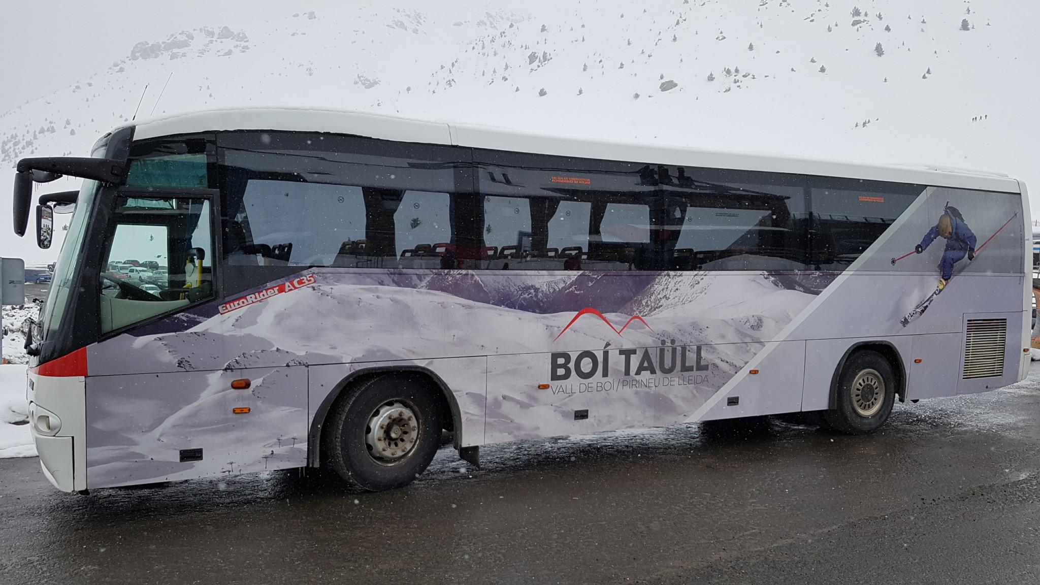 autobús gratuito boí taüll