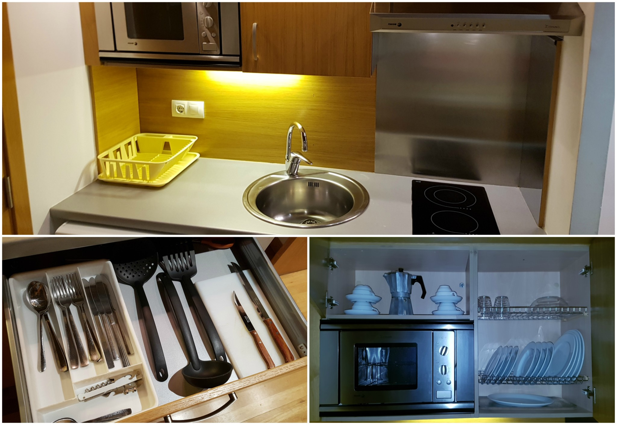 Cocina aparthotel augusta