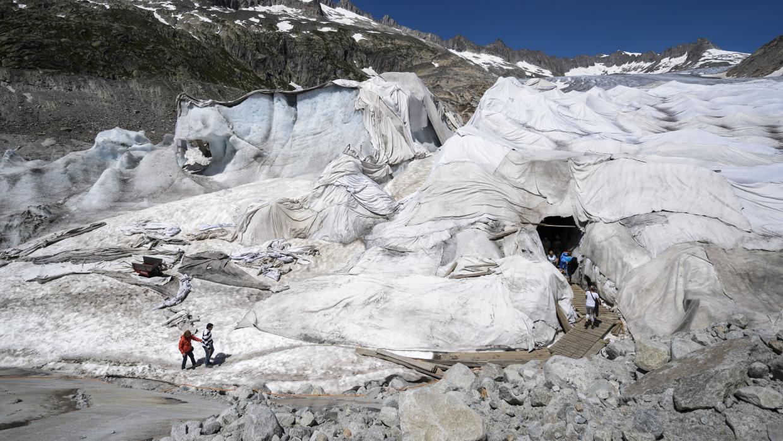 glaciares arropados