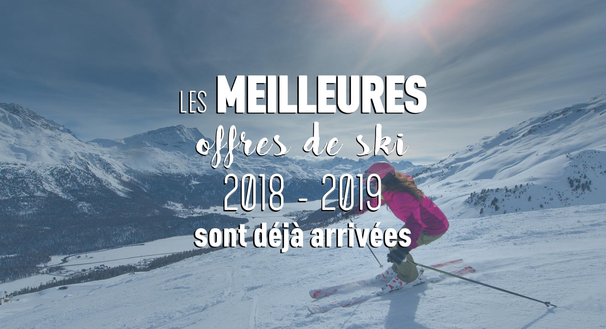 offres de ski 2018-2019