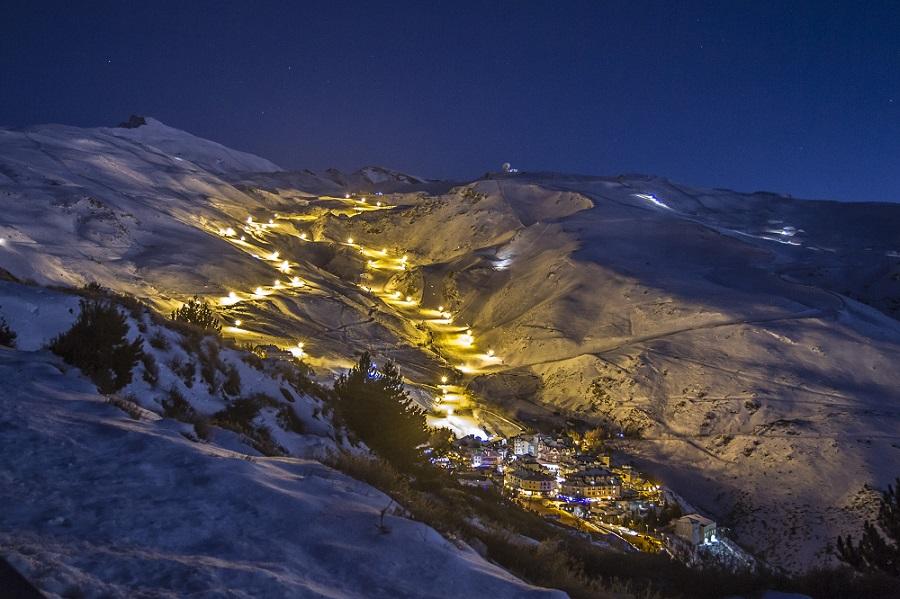 Sierra Nevada - Esquí nocturn