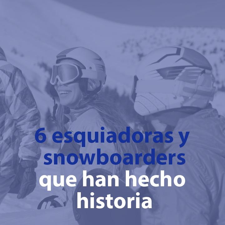 esquiadoras que han hecho historia
