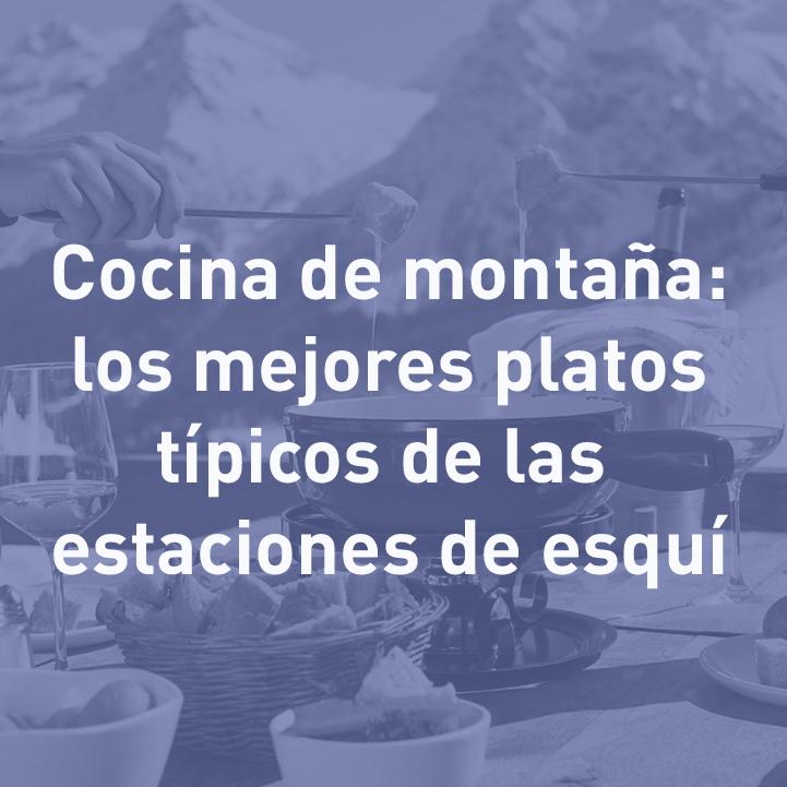 cocina típica de montaña