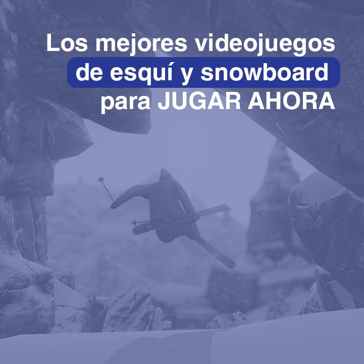VIDEOJUEGOS-ESQUI-SNOWBOARD